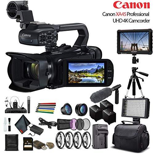 Canon XA45 Professional UHD 4K Camcorder...