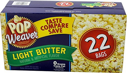 Best Bargain Pop Weaver Light Butter Popcorn, 2.75 lbs