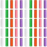 50 Piezas Alineadores Masticables Asientos de Bandeja de Alineador Asiento Alineador Chewies para Masticadores Bandejas Alineadoras, 5 Colores