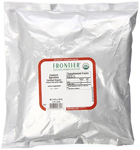 Frontier Spirulina Powder Organic, 1 Pound