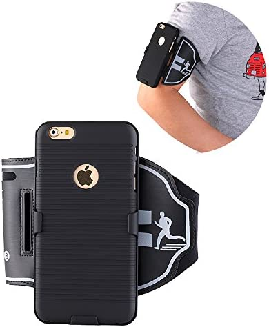 Running Armband for iPhone 6s plus 180 Rotative Holster Open Face Arm Band Ideal for Fitness product image
