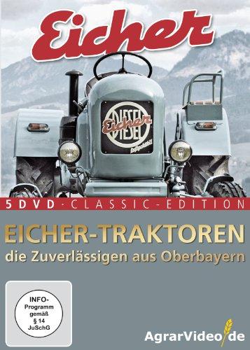 Eicher Traktoren: Die Zuverlässigen aus Oberbayern - 5 DVD Classic Edition