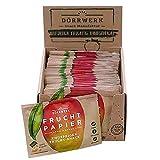 Trockenfrüchte Pocket Size Box (21x18g) I Veganer Frucht Snack aus Apfel und Mango I Low Carb Trockenobst I Superfood Snacks für Büro und Unterwegs