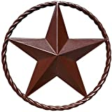 Barn Star - Metal Stars for Outside Texas Stars Art Rustic Vintage Western Country Home Farmhouse Wall Decor (12')