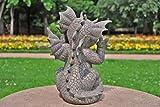 Gargoyle Gartendrache schneidet Grimasse Drachenkind Deko Drache Gartendrache 1756118 - 4
