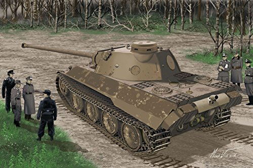 Dragon Models Panther AUSF.D V2 Versuchstiere Smart Kit (1/35 Scale)