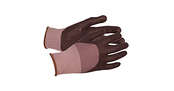 ERB 21230 Safety N300 Nylon Nitrile Dots Gloves Gray Standard Plumbing Supply X-Large
