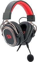 Headset Gamer Redragon Helios Preto USB Com Microfone Removível PC 7.1 Simulado Driver 50mm - H710