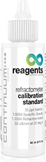 Continuum Reagents Refractometer Calibration Standard, provides an accurate reference for the calibration of seawater refr...