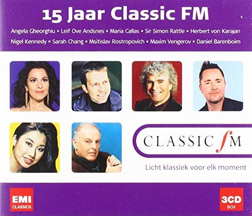 Classic FM 15 Jaar 3cd