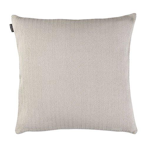 Linum - Shepard - Kissenhülle/Kissenbezug/Wohntextilien - 50 x 50 cm - G10 - blass hellgrau