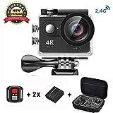 Daping Action Cam 4K Wasserdicht, Action Kamera Sport Helmkamera WiFi 170° Weitwinkel 2,0 Zoll...