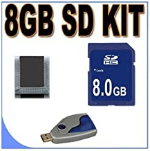 8GB SD/HC Memory Card Secure Digital BigVALUEInc Accessory Saver Bundle for Canon Cameras