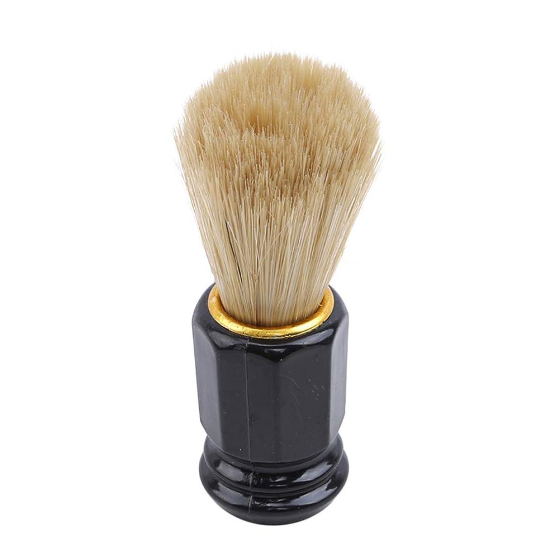 ダーリンスカリー発明火の色 ひげブラシ シェービングブラシ 美容ツール 理容 洗顔 髭剃り 泡立ち 男性