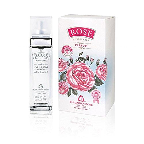 Rose Original Parfum mit natürlichem Rosenöl 30ml von der Bulgarischen Rose Karlovo
