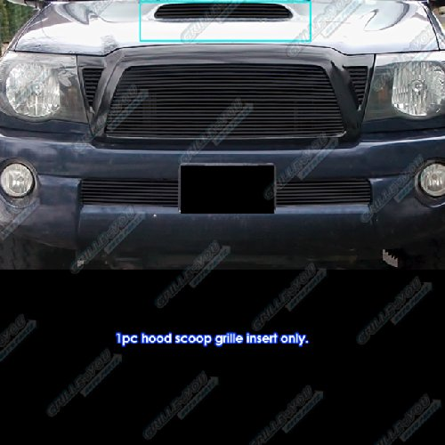 APS T66501H Black Powder Coated Grille Bolt Over for select Toyota Tacoma Models
