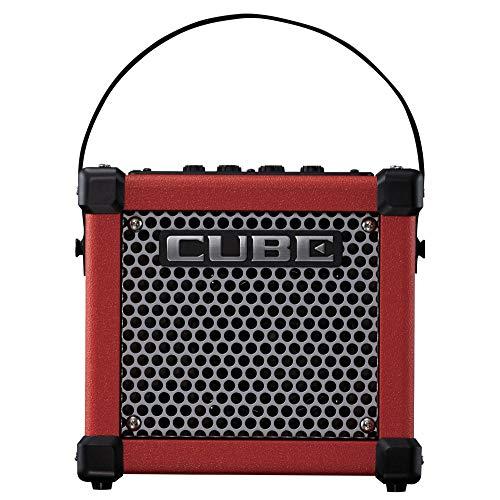 Roland MICRO CUBE GX Portable 3-Watt Guitar Amplifier, Red