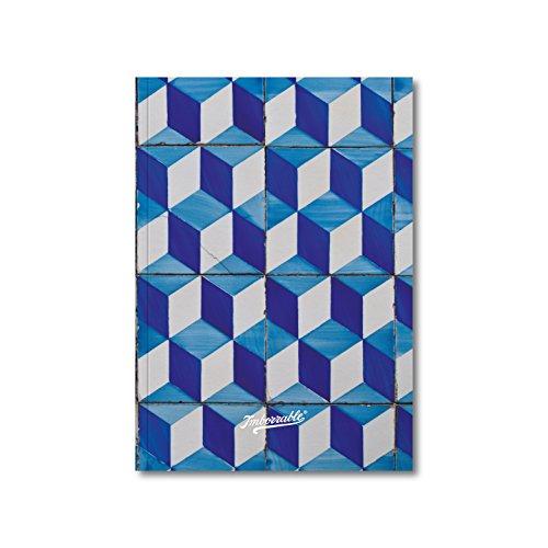 Imborrable Portalegre - Cuaderno de notas con malla de puntos, 144 páginas, A5, 14.8 x 21 cm
