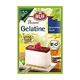 RUF Bio Gelatine gemahlen weiß vom Schwein aus zertifiziert kontrolliertem biologischen Anbau, 11er Pack (11 x 27g)