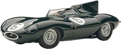 6 (Hawthorn   Byubu) 1955 championship car 24 AUTOart 1 43 Jaguar D-Type Le Mans (japan import)