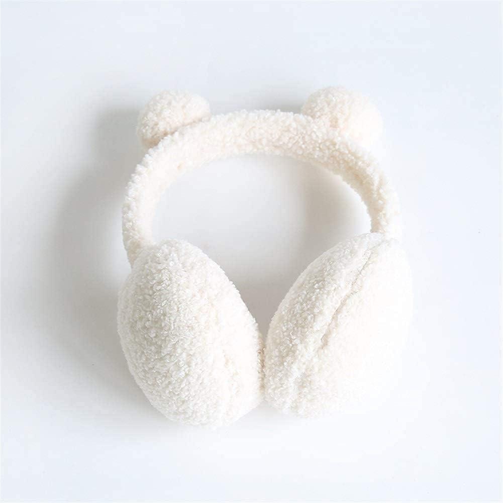 Hitc Earmuffs for Kids Lovely in Winter Warm Earmuffs Furry Ear Warmers for Boys Girls Cold Weather Earmuffs Soft Fuzzy Headwarmer