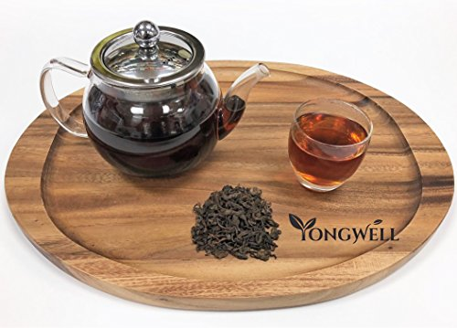 YongWell - Premium Yunnan Pu Erh Loose Leaf Tea, 100% Natural, Helps Digestion & Weight Loss (8oz.)