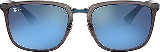 نظارة شمسية بتصميم مستطيل من راي بان للرجال RB4303