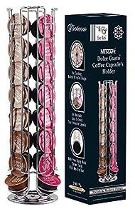 EVER RICH ® Dolce Gusto Soporte Giratorio para 24/32/35 cápsulas de café (32)