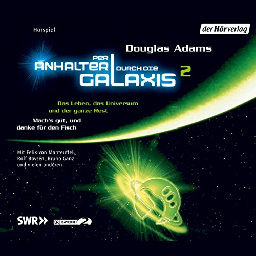 Per Anhalter durch die Galaxis 2 audiobook cover art