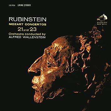 Mozart: Piano Concerto No. 23 in A Major, K. 488 & Piano Concerto No. 21 in C Major, K. 467