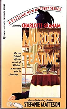 Murder at Teatime 1557734771 Book Cover