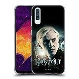 Head Hülle Designs Offiziell Offizielle Harry Potter Draco Malfoy Deathly Hallows VIII Soft Gel Handyhülle Hülle kompatibel mit Samsung Galaxy A50/A30s (2019)
