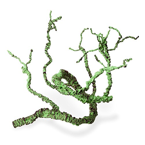 Jungle Vines Flexible Pet Habitat Decor for Lizards, Frogs, Snakes and Other Reptiles