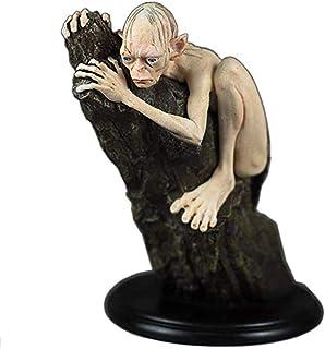 Sculpture, Seigneur des Anneaux Roi Statue, Hobbit Gollum Décoration Caractère, Résine Artisanat, Figurine/Mobilier De Mai...