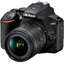 Nikon D3500 24.2MP DSLR Camera with AF-P DX NIKKOR 18-55mm f/3.5-5.6G VR Lens (1590B) – (Renewed)
