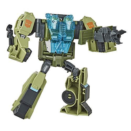 Transformers Toys Cyberverse Ultra Class Rack-n-Ruin Actionfigur – kombiniert mit Energon Armor zum Power Up, für Kinder ab 6 Jahren, 17,5 cm, sortiertes Modell
