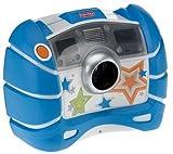 Fisher-Price - R7315 - Jeu Electronique - Appareil Photo Numérique Anti-Choc - Bleu
