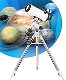 QQ HAO Telescopio Astronómico De 150 Mm De Calibre Microordenador Montaje Ecuatorial Gran Aumento Y Alta Definición Telescopio Reflector Profesional