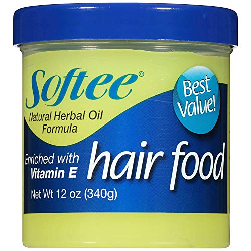 Softee Hair Food with Vitamin E 12 Oz