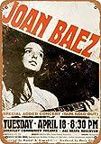 1967 Joan Baez at Berkeley Metallschild im Vintage-Look,