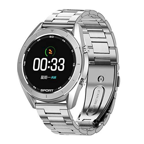 YYZ DT99 Smart Watch IP68 Ronda Impermeable Ronda HD Pantalla ECG Detección Reemplazable Dial Smart Watch Rastreador De Fitness Hombres,F