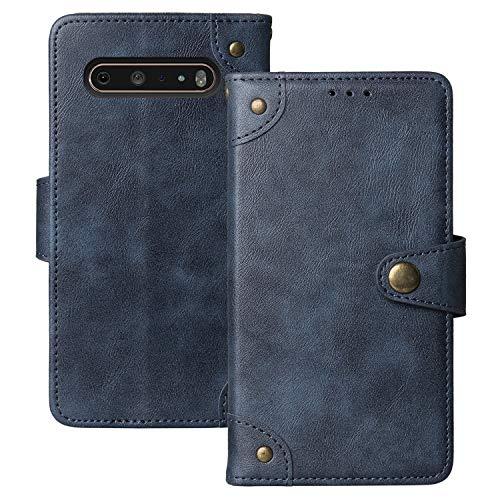 Lankashi Flip Brief Tasche Hülle Schütz Hülle Für LG V60 ThinQ 5G 6.8