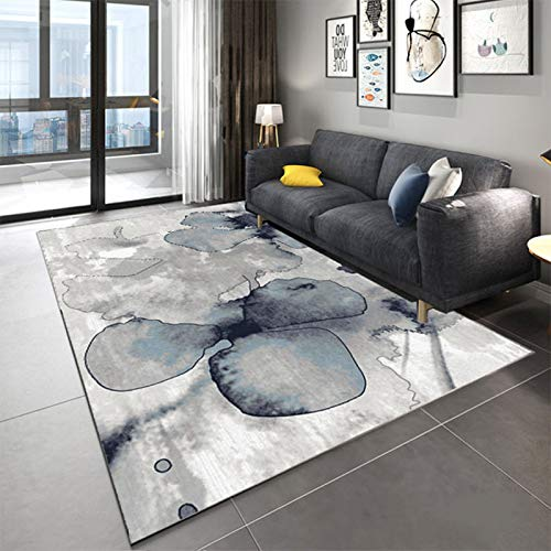 Nordic Modern Minimalist Non-Slip Padded Floor Mats Rectangular Washable Living Room Sofa Coffee Table Bedroom Hotel Party Party Carpet