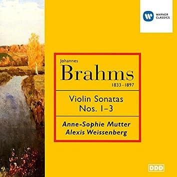 Brahms : Violin Sonatas 1-3