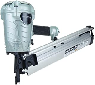 Hitachi NR90AES1 Framing Nailer, 2-Inch to 3-1/2-Inch Plastic Collated Full Head Nails,..