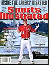 Bryce Harper 2013 Sports Illustrated No Label Nationals Feb. 25 NMT Cond