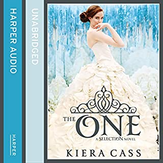 The One                   By:                                                                                                                                 Kiera Cass                               Narrated by:                                                                                                                                 Amy Rubinate                      Length: 7 hrs and 25 mins     54 ratings     Overall 4.4