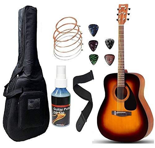Yamaha F280 Acoustic Guitar Dreadnought With Sponge Bag Belt and Plectrum (Tsb)