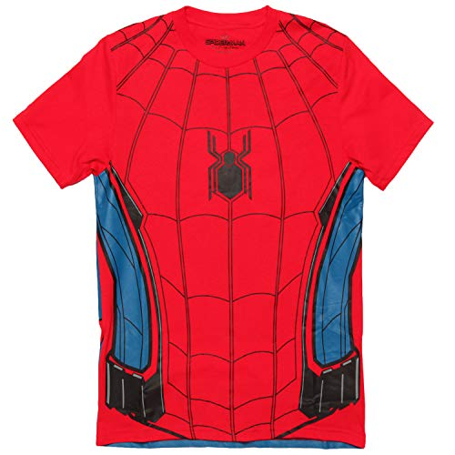 Marvel Comics Character Costume Adult T-Shirt - Spider-Man (X-Small)