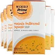 Wickedly Prime Masala Butternut Squash Soup, 17 Ounce (Pack of 6)